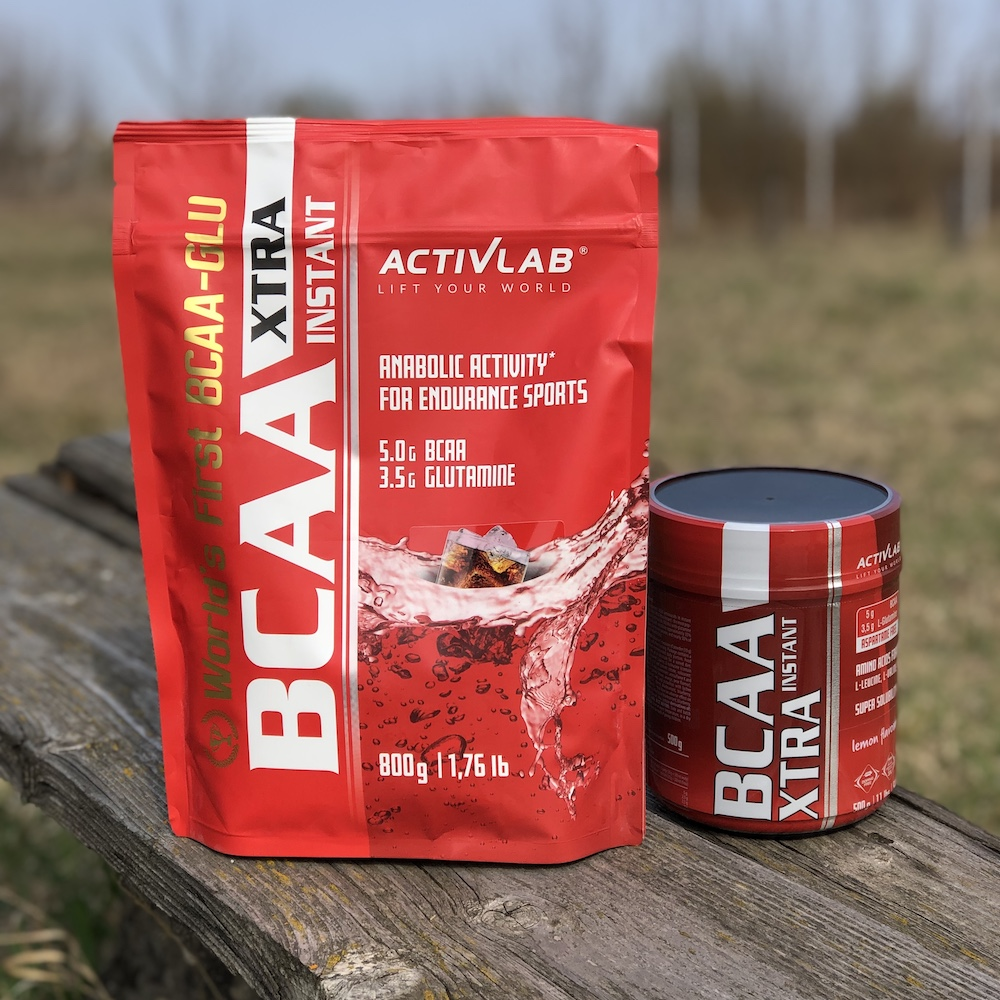BCAA Xtra Instant 800 and 500